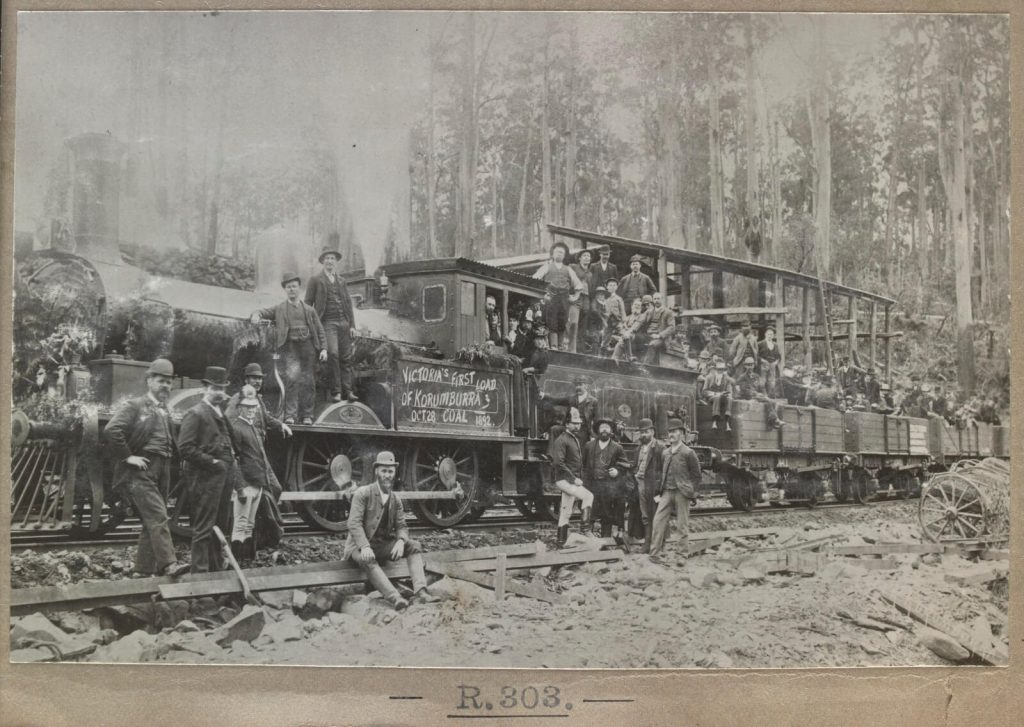First load of Coal from Korumburra 28 Oct 1892