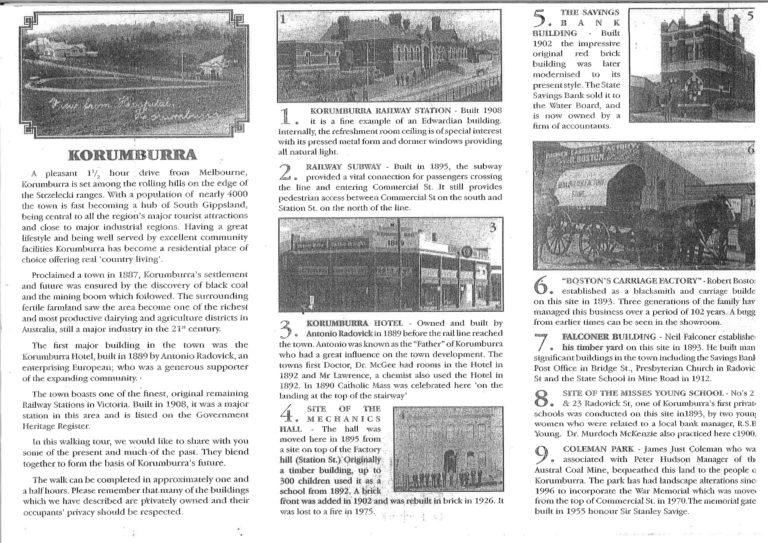 korumburra historical walk pg 3