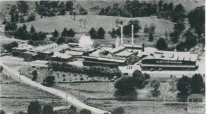 Korumburra Butter Factory 1955