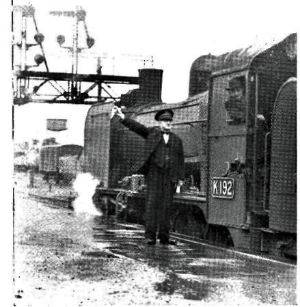L.P.N Sullivan - Station Master 1951