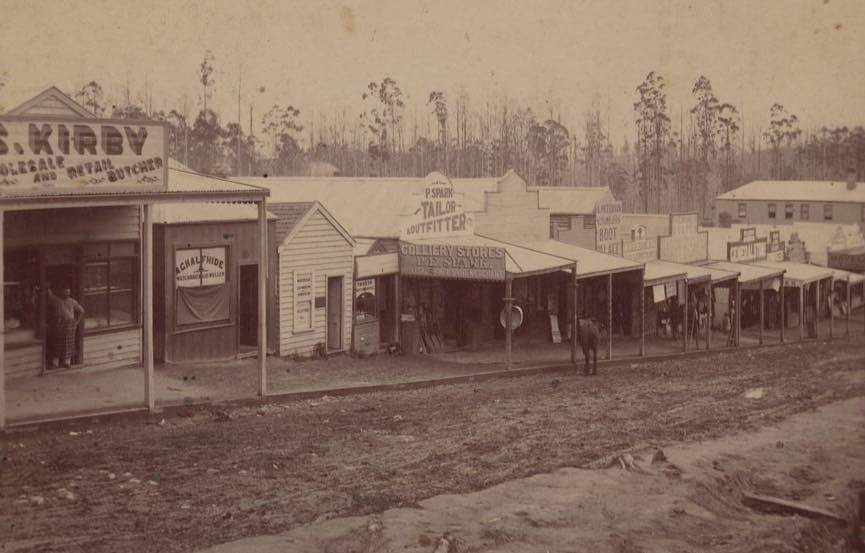 Main St Korumburra 1895