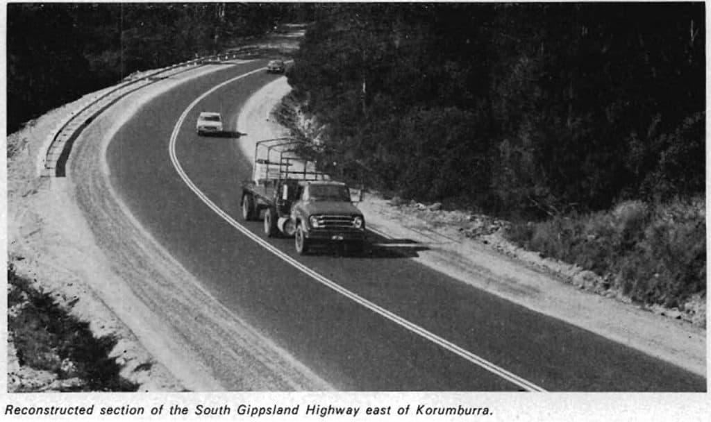 Roadworks Gippsland 1973-74
