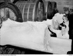 Butter from the churns Korumburra Butter Factory 1943