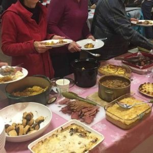 casserole to share