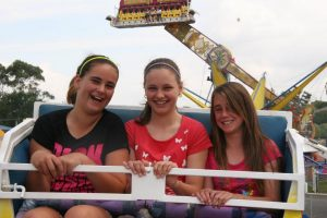 Korumburra Show - carnival rides
