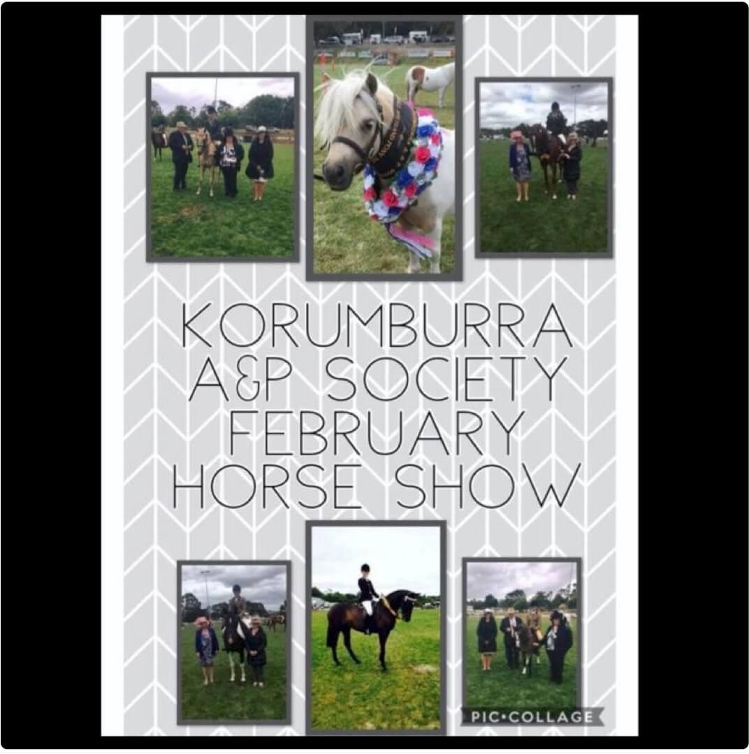 Korumburra Show Flat Horse Day image