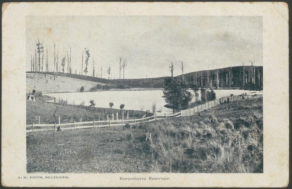 Korumburra Reservoir 1907