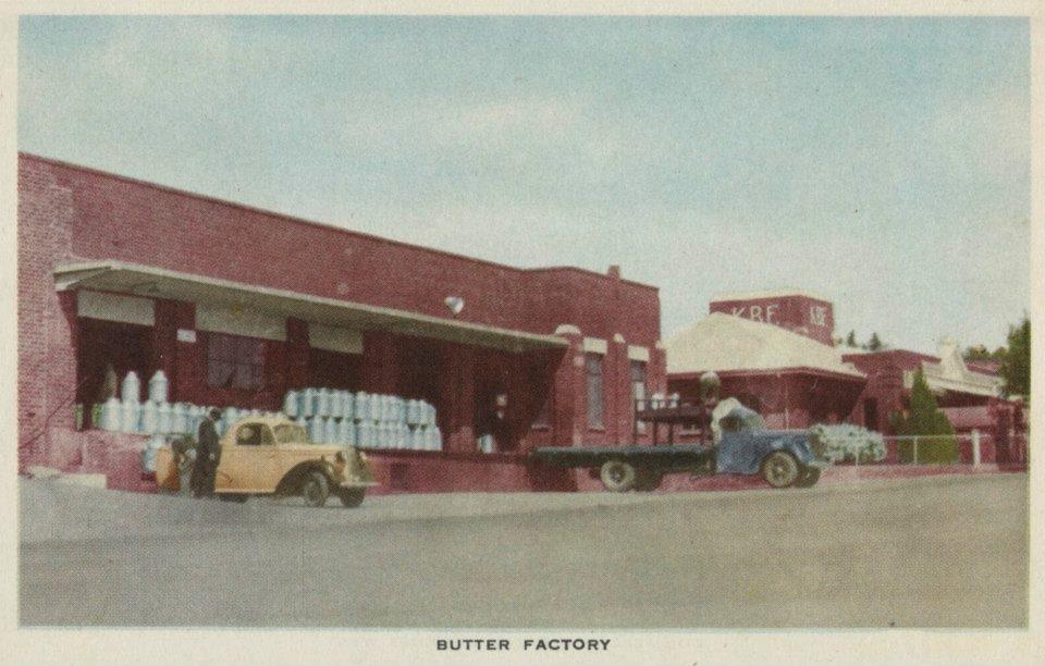 Korumburra Butter Factory - historic