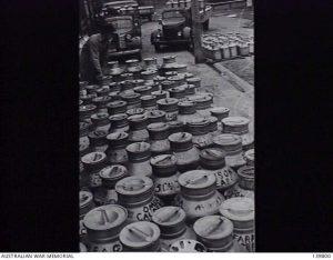 milk cans korumburra butter factory 1943