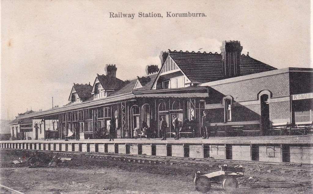 railway-station-korumburra-early-1900s